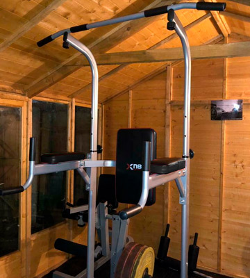 Review of Xn8 Sports Adjustable Pull Up Bar VKR Station