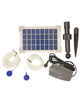 Woodside W217 Solar Oxygenator Air Pump for Pond, 180 Litres Per Hour