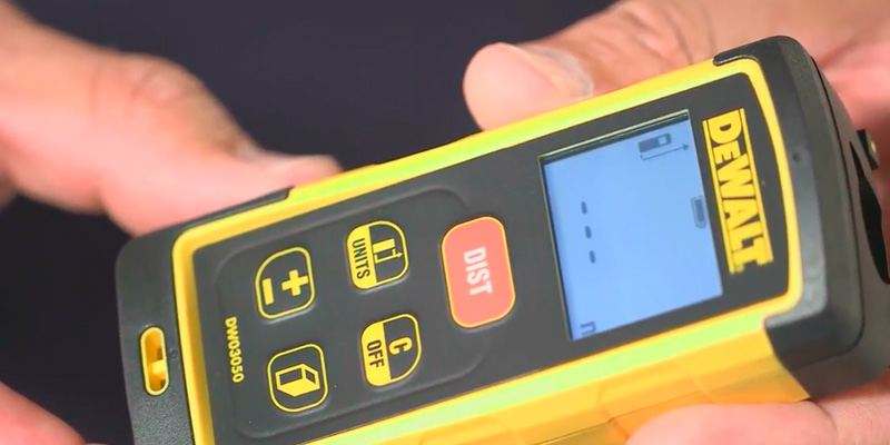 Review of DEWALT DW03050-XJ Laser Distance Measurer