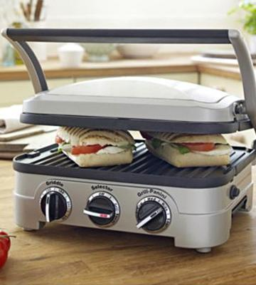 Review of Cuisinart Panini Press Griddler