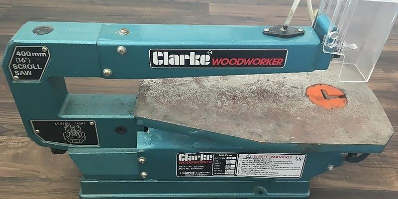 Review of Clarke International CSS400B Scroll Saw