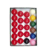 Iqgamesroom Full Size Snooker Ball Set