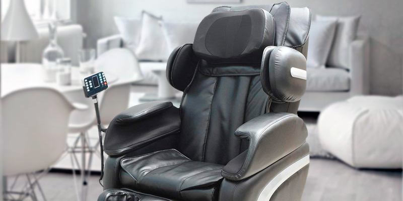 HomCom 71-0031 Leather Massage Chair Automatic Zero Gravity Relax in the use