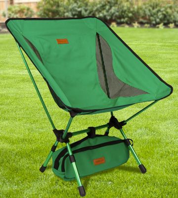 Review of Trekology YIZI GO Portable Camping Chair with Adjustable Height
