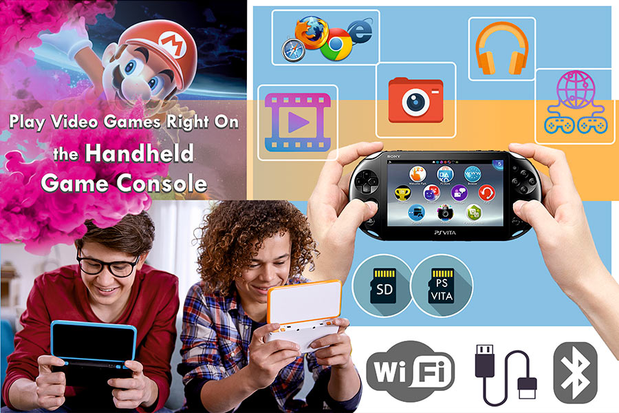 Comparison of Handheld Game Consoles