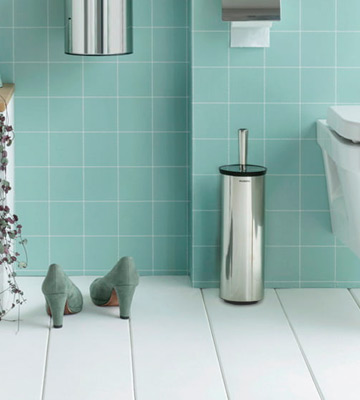 Review of Brabantia Brilliant Steel Toilet Brush and Holder