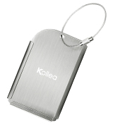 Kollea Luggage Tags Pack of 2 Aluminum Travel ID Tag