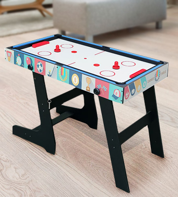Review of HLC 0062BK 4 in 1 Multi Sports Game Table Pool/Air Hockey/Mini Table Tennis/Football