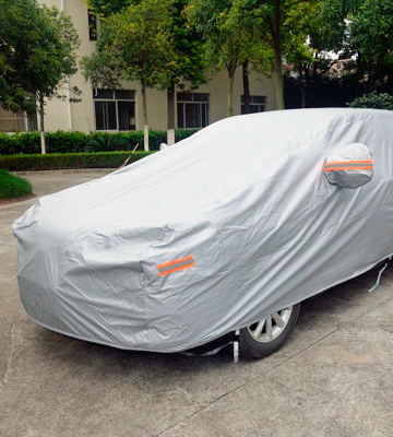 Review of Carbaba CCSC Car Cover Sedan Cover Waterproof - /Windproof/Dustproof/Scratch Resistant Outdoor UV Protection Full Car Covers (SUV car)