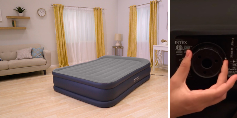 Review of Intex 64136 Deluxe Air Bed Mattress