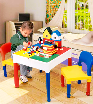 Review of Liberty House LH698 5 in 1 Activity Table & Chairs with Storage