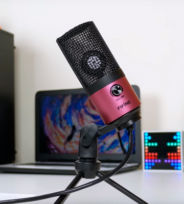 Review of Fifine K669 Studio USB Condenser Microphone