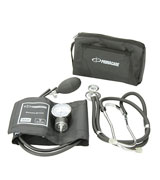 Primacare Medical Supplies DS-9181 Black Professional Blood Pressure Kit with Sprague Rappaport Stethoscope