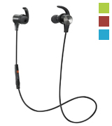 TaoTronics TT-BH07 Bluetooth 4.1 Headphones Stereo Magnetic Earbuds with Mic