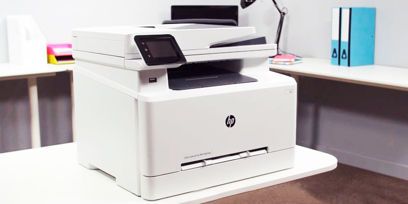 Review of HP LaserJet Pro MFP M281fdw Wireless Multifunction Printer with Fax