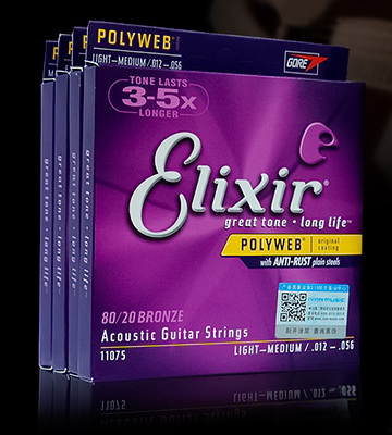 Review of Elixir Acoustic Guitar Strings