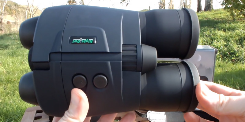 Night Owl NOB5X Night Vision Binoculars in the use