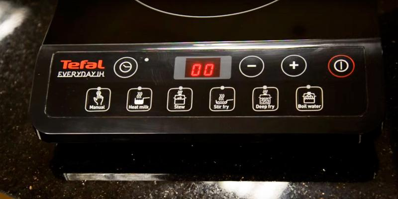 Tefal IH201840 Induction Hob in the use