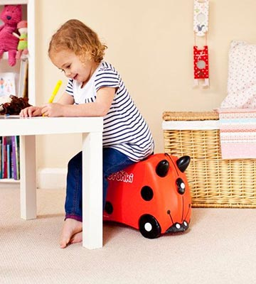 Review of Trunki Harley the Ladybug / Ladybird Ride-on Suitcase