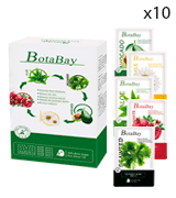 Botabay (Pack of 10) Facial Sheet Moisture Hydrating Face Mask for all Skin Types