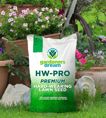 Review of GardenersDream HW-PRO Gardeners Hard-Wearing Lawn Grass Seed