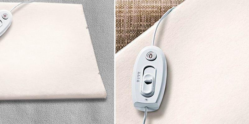 Review of Sanitas SHK18 Therapy Heating Pad