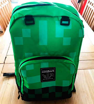 Review of Minecraft 6026 Creeper Backpack