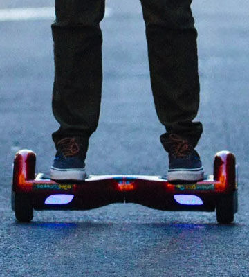 Review of Fit4home Navboard Self Balancing Two Wheel Scooter Howerboard