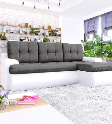 Review of Honeypot Calasetta Corner Sofa Bed