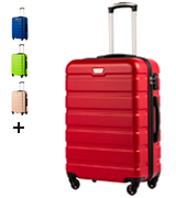 Coolife Trolley Hard Shell 93L Suitcase
