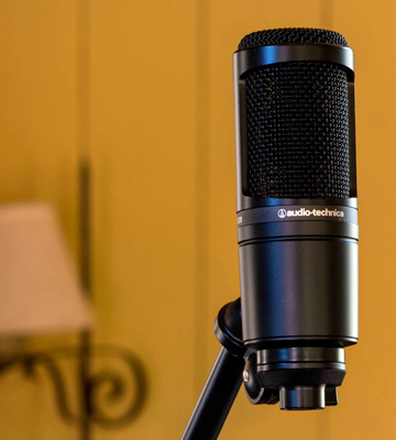 Review of Audio-Technica AT2020 Professional Condenser Microphone