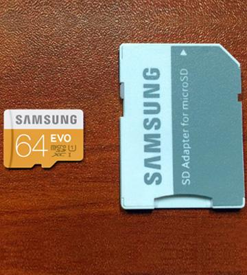 Review of Samsung EVO Class 10 Micro SDXC Card with Adapter