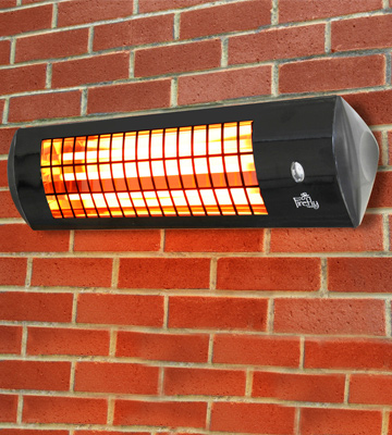 Review of Firefly Wall Mounted Quartz Heater Wall Mounted Heater