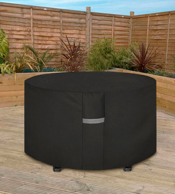 Review of Dokon Anti-UV 600D Oxford Garden Table Cover with Air Vents