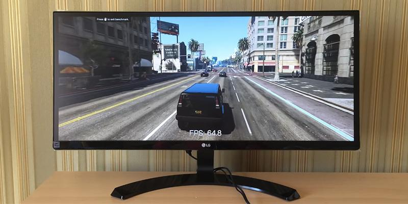 Review of LG UltraWide LED-lit Gaming Monitor