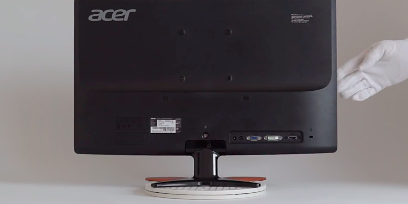Acer GN246HL Predator HDMI Gaming Monitor in the use