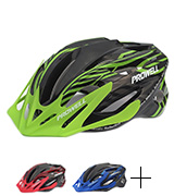 Prowell F59R Vipor Cycle Helmet + SharkFIN Light Worth