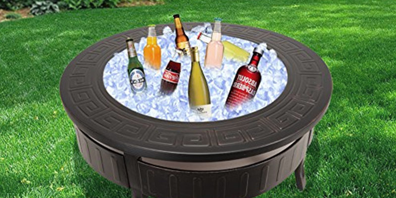 RayGar FP34 3 in 1 Round Fire Pit in the use
