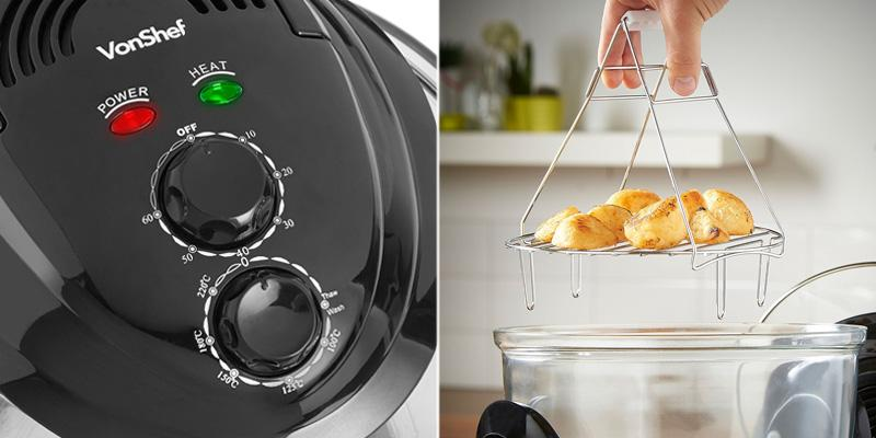 Detailed review of VonShef Mini Halogen Air Fryer Oven