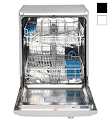 Indesit DFG15B1S Slimline Dishwasher