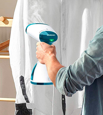 Review of homeasy Clothes Garment 5 in 1 Handheld Fabric Steamer Wrinkle Remover