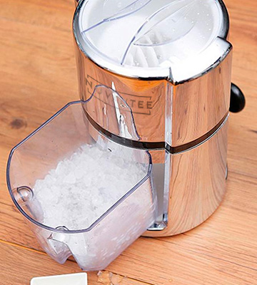 Review of Nuvantee Ice Crusher Carbon Steel Manual