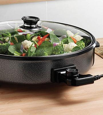 Review of Andrew James Large 42cm Diameter Round Multi Cooker
