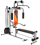 V-Fit GY020 Herculean COBRA Lay Flat Home Gym