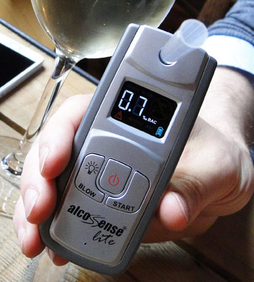 Review of AlcoSense Lite Breathalyzer & Alcohol Tester