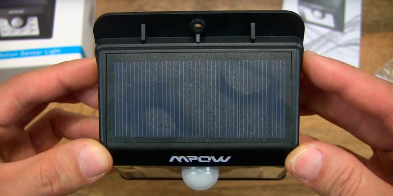 Detailed review of Mpow LED Solar Motion