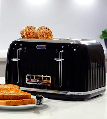 Review of Breville VTT476 Impressions 4 Slice Toaster