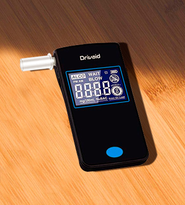 Review of Drivaid Alcohol Tester Breathalyzer Portable High-Accurate Breathalyzer with 20 Mouthpieces