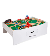 Melissa & Doug Deluxe Wooden Multi-Activity Play Table