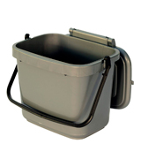 All-Green Kitchen Compost Caddy 5 Litre Plastic